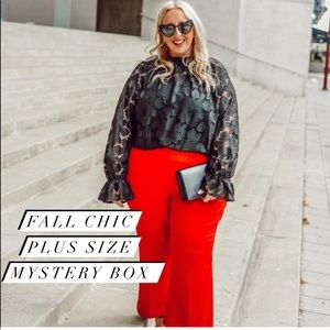 PLUS SIZE   FALL 5 PIECES MYSTERY BOX